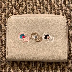 Dream Control floral leather wallet